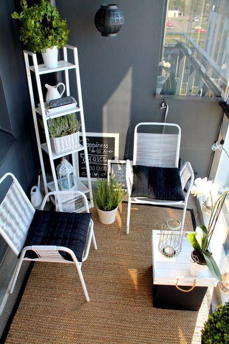 Malý balkón s veľkou atmosférou - inšpirácie - Obrázok č. 43