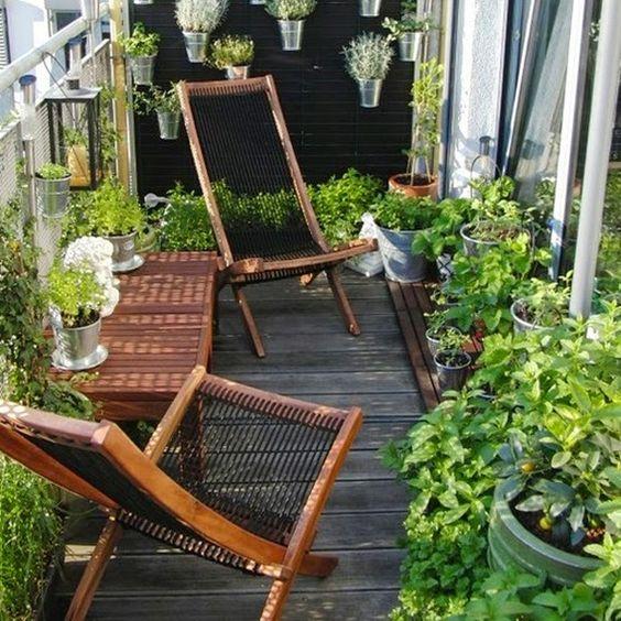 Malý balkón s veľkou atmosférou - inšpirácie - Obrázok č. 44