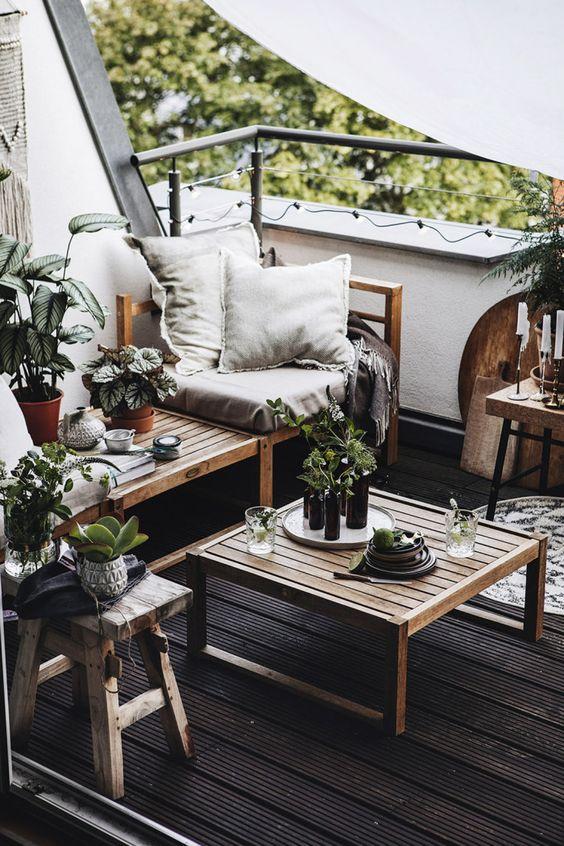 Malý balkón s veľkou atmosférou - inšpirácie - Obrázok č. 45
