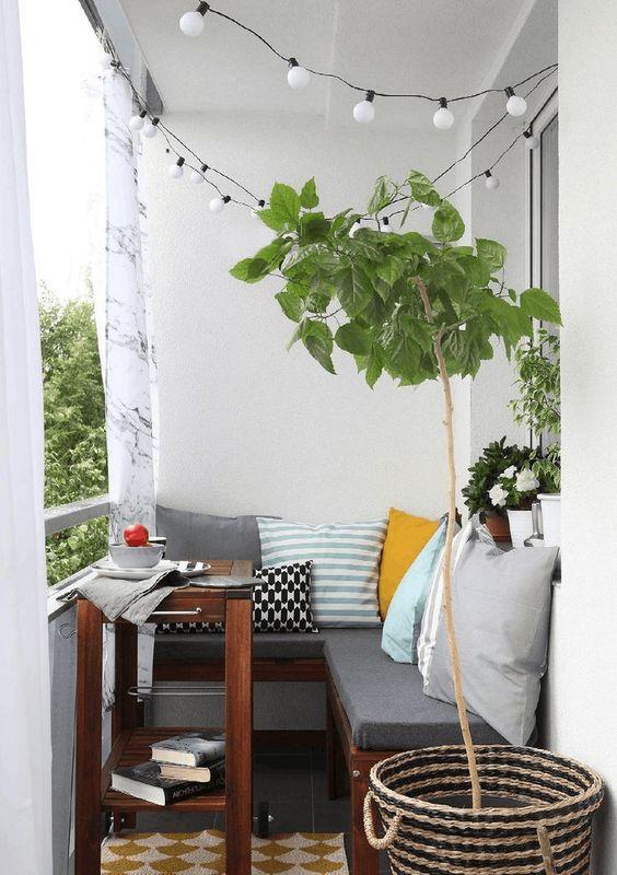 Malý balkón s veľkou atmosférou - inšpirácie - Obrázok č. 46