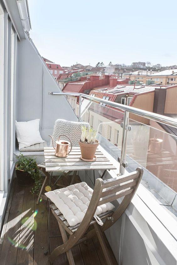 Malý balkón s veľkou atmosférou - inšpirácie - Obrázok č. 47