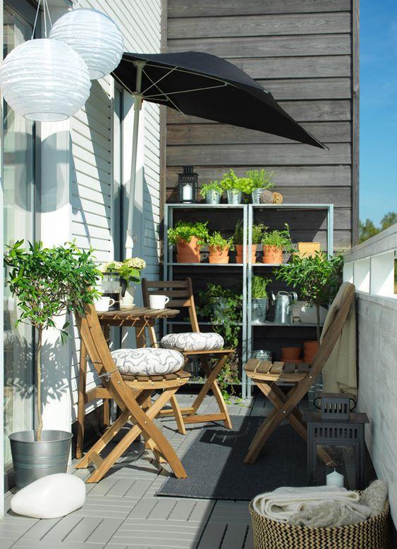 Malý balkón s veľkou atmosférou - inšpirácie - Obrázok č. 48
