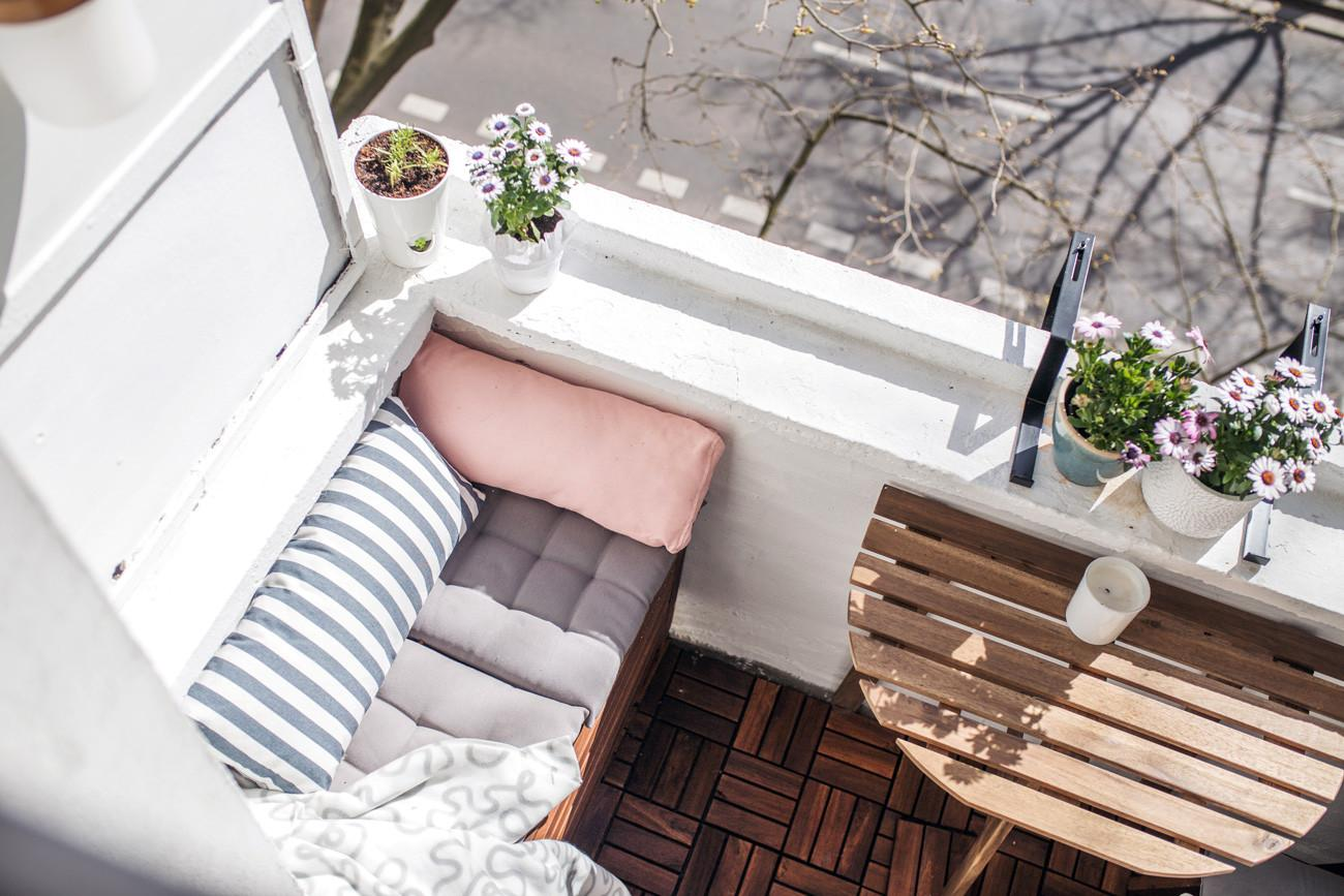 Malý balkón s veľkou atmosférou - inšpirácie - Obrázok č. 50