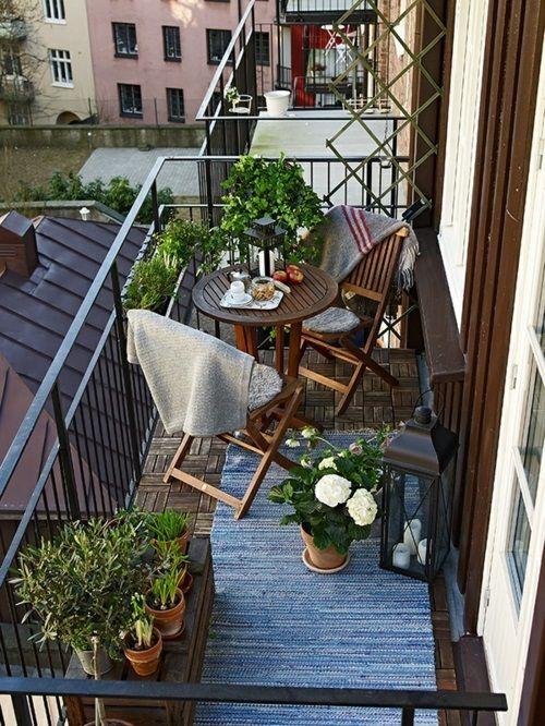 Malý balkón s veľkou atmosférou - inšpirácie - Obrázok č. 51