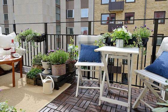 Malý balkón s veľkou atmosférou - inšpirácie - Obrázok č. 54