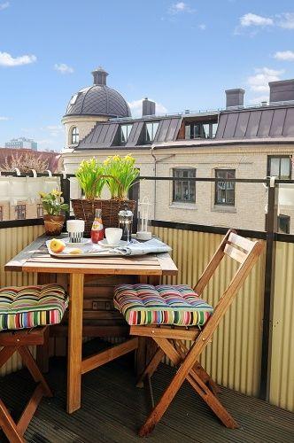 Malý balkón s veľkou atmosférou - inšpirácie - Obrázok č. 56