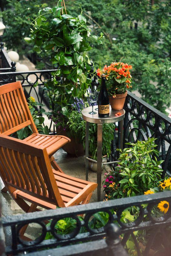 Malý balkón s veľkou atmosférou - inšpirácie - Obrázok č. 57