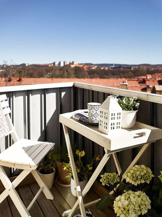 Malý balkón s veľkou atmosférou - inšpirácie - Obrázok č. 58