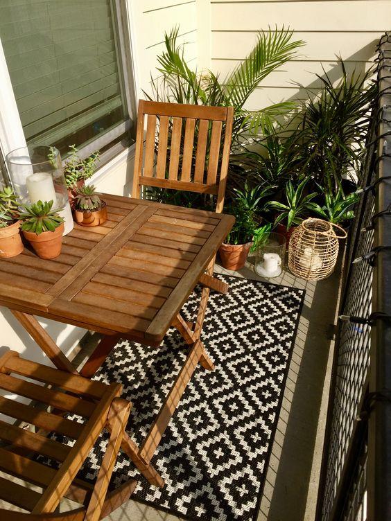 Malý balkón s veľkou atmosférou - inšpirácie - Obrázok č. 59