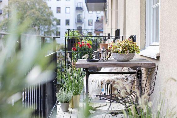 Malý balkón s veľkou atmosférou - inšpirácie - Obrázok č. 60