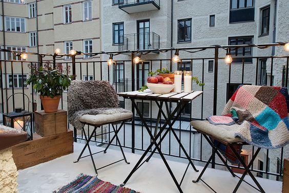 Malý balkón s veľkou atmosférou - inšpirácie - Obrázok č. 61