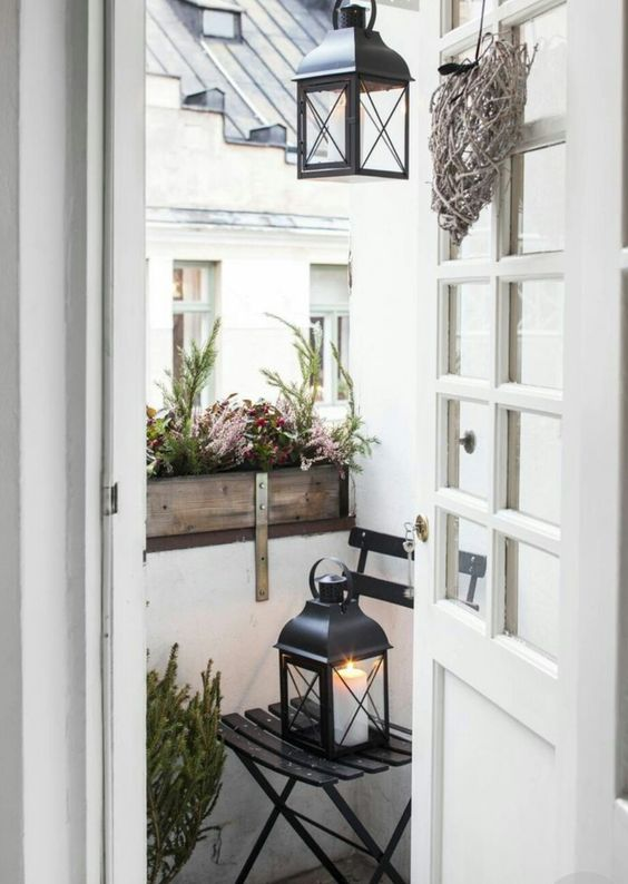 Malý balkón s veľkou atmosférou - inšpirácie - Obrázok č. 66