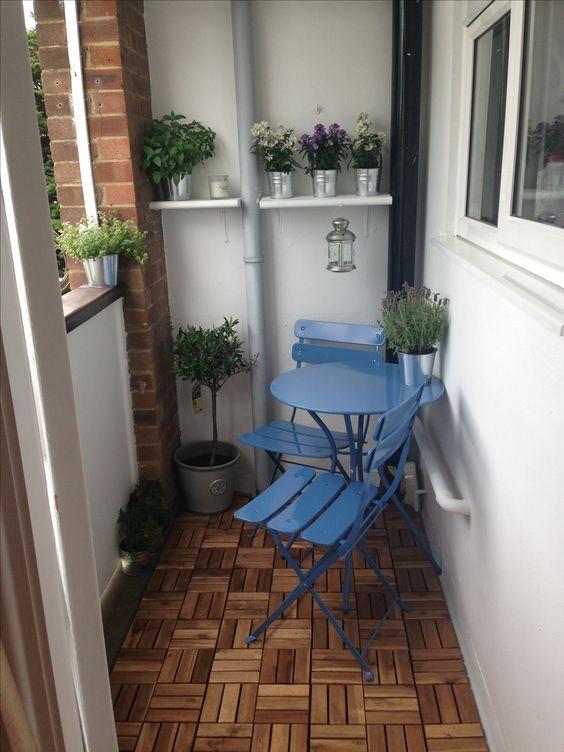 Malý balkón s veľkou atmosférou - inšpirácie - Obrázok č. 70