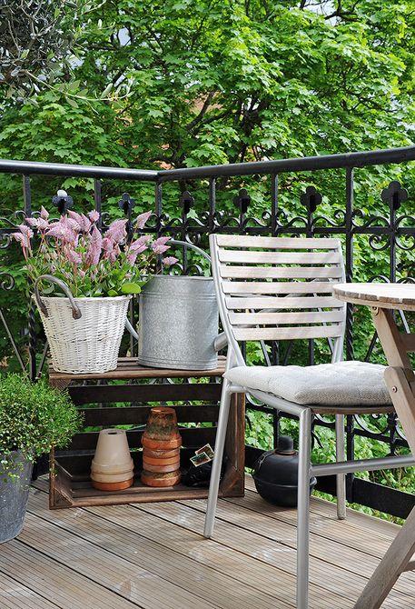 Malý balkón s veľkou atmosférou - inšpirácie - Obrázok č. 71