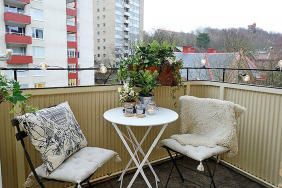 Malý balkón s veľkou atmosférou - inšpirácie - Obrázok č. 72