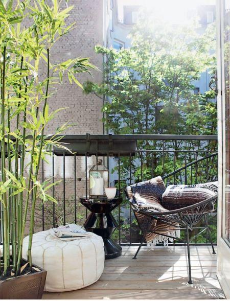 Malý balkón s veľkou atmosférou - inšpirácie - Obrázok č. 76