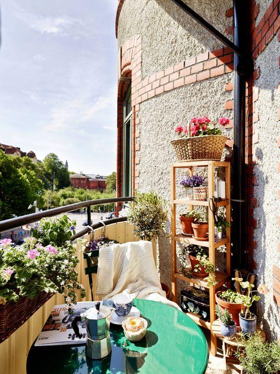 Malý balkón s veľkou atmosférou - inšpirácie - Obrázok č. 80
