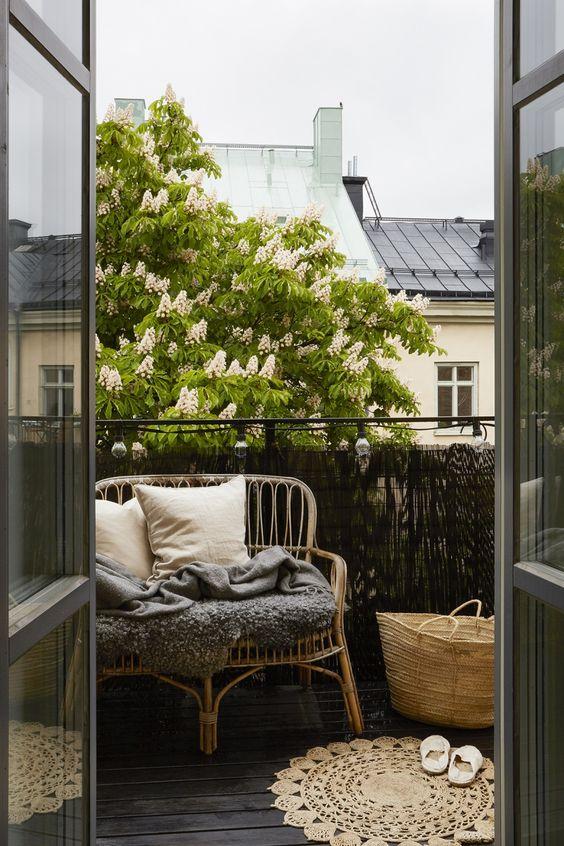 Malý balkón s veľkou atmosférou - inšpirácie - Obrázok č. 84