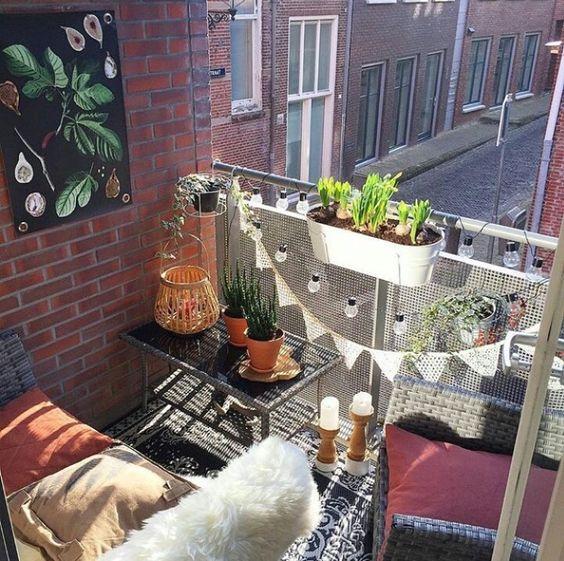 Malý balkón s veľkou atmosférou - inšpirácie - Obrázok č. 85