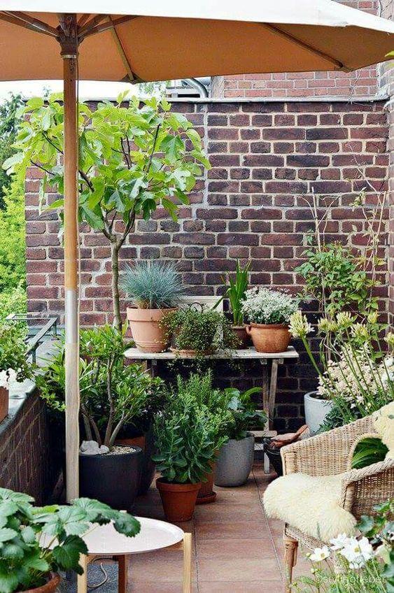 Malý balkón s veľkou atmosférou - inšpirácie - Obrázok č. 87