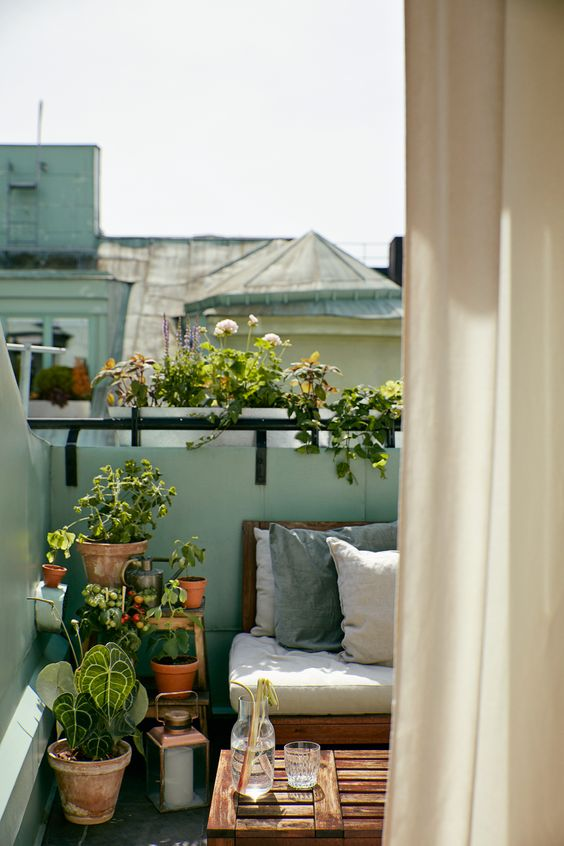 Malý balkón s veľkou atmosférou - inšpirácie - Obrázok č. 91