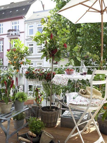 Malý balkón s veľkou atmosférou - inšpirácie - Obrázok č. 92