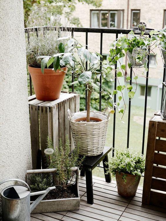 Malý balkón s veľkou atmosférou - inšpirácie - Obrázok č. 94