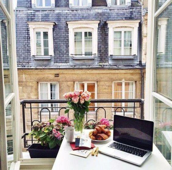 Malý balkón s veľkou atmosférou - inšpirácie - Obrázok č. 98