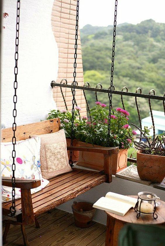 Malý balkón s veľkou atmosférou - inšpirácie - Obrázok č. 99