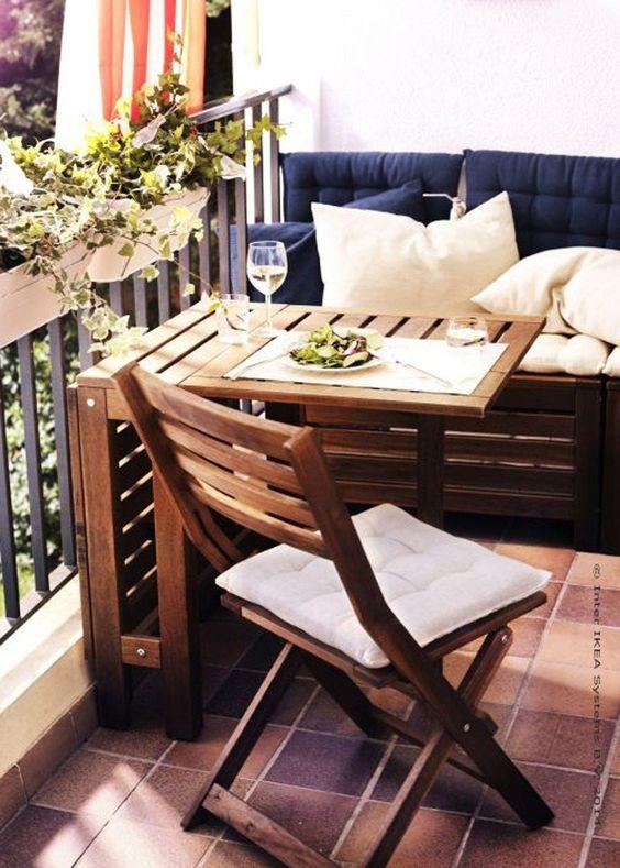 Malý balkón s veľkou atmosférou - inšpirácie - Obrázok č. 101