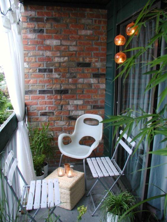 Malý balkón s veľkou atmosférou - inšpirácie - Obrázok č. 103