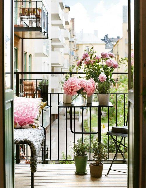 Malý balkón s veľkou atmosférou - inšpirácie - Obrázok č. 105