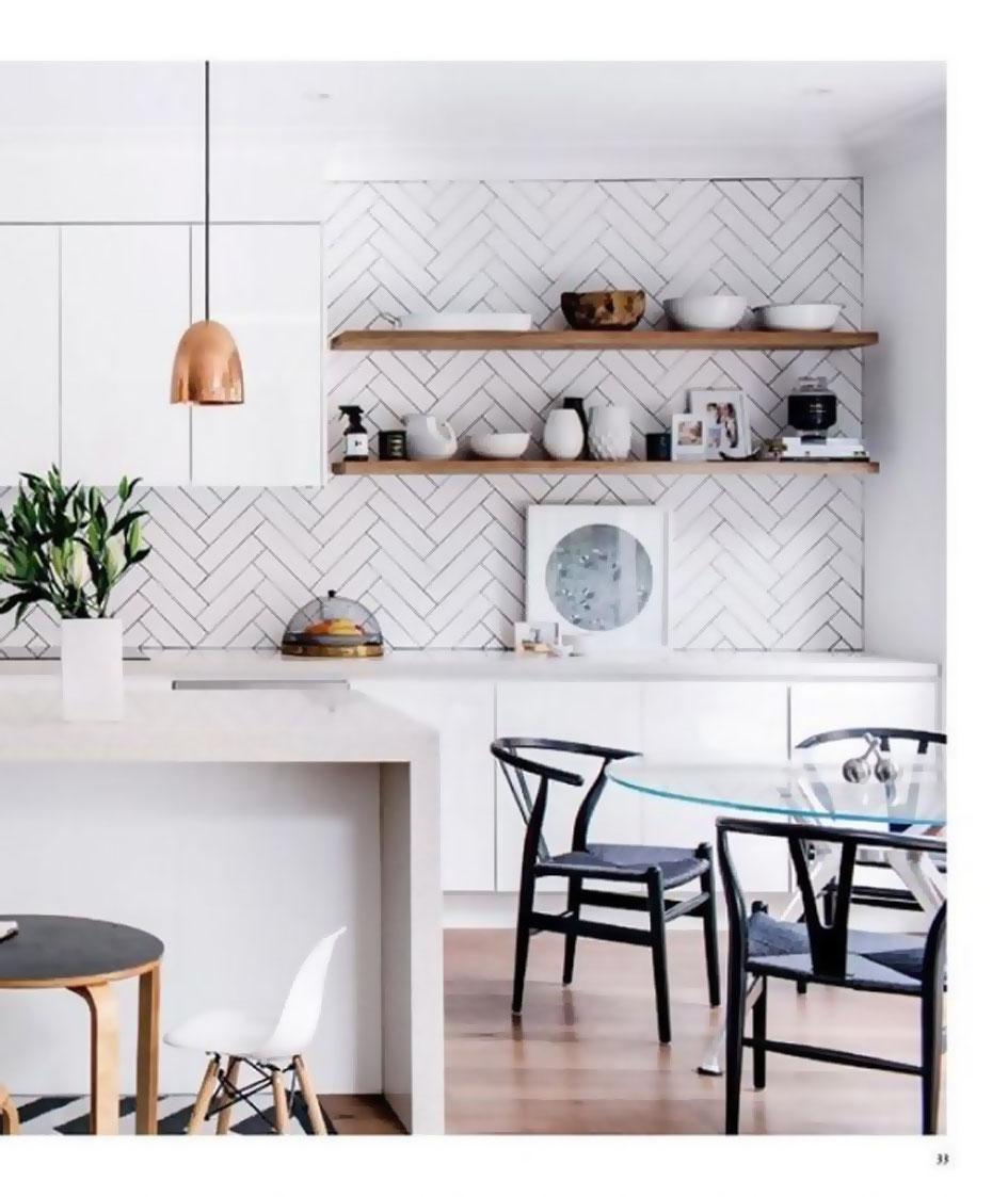Kuchyne s otvorenými poličkami - Obrázok č. 86