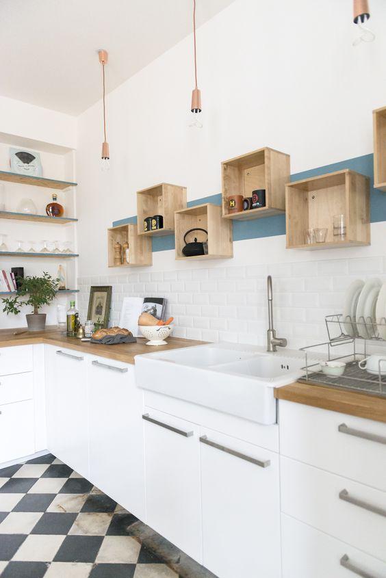 Kuchyne s otvorenými poličkami - Obrázok č. 87