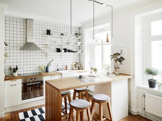 Kuchyne s otvorenými poličkami - Obrázok č. 89