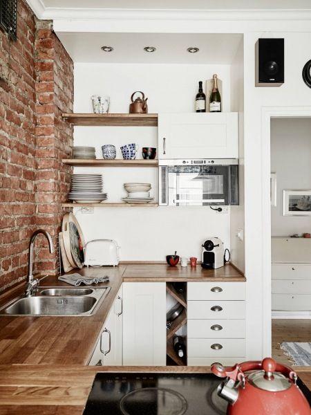 Kuchyne s otvorenými poličkami - Obrázok č. 90