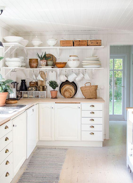 Kuchyne s otvorenými poličkami - Obrázok č. 91