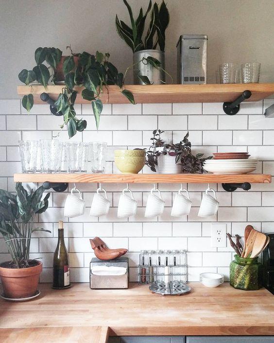 Kuchyne s otvorenými poličkami - Obrázok č. 92