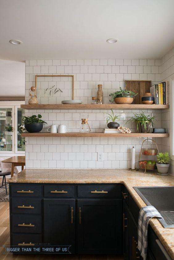 Kuchyne s otvorenými poličkami - Obrázok č. 94