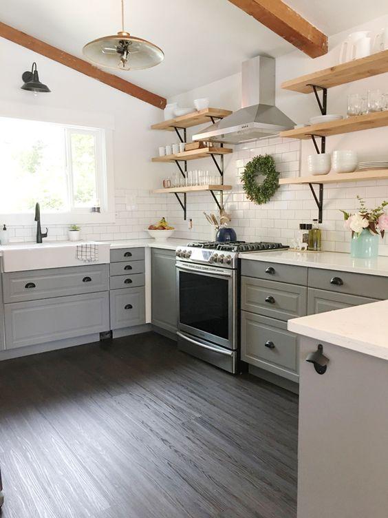 Kuchyne s otvorenými poličkami - Obrázok č. 95