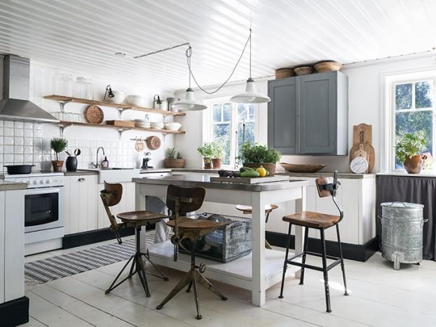 Kuchyne s otvorenými poličkami - Obrázok č. 96