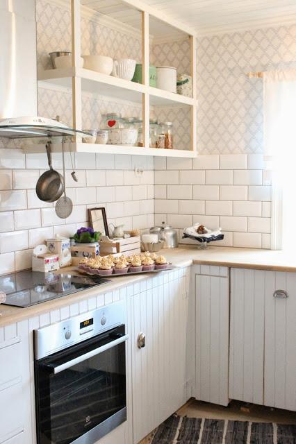 Kuchyne s otvorenými poličkami - Obrázok č. 97