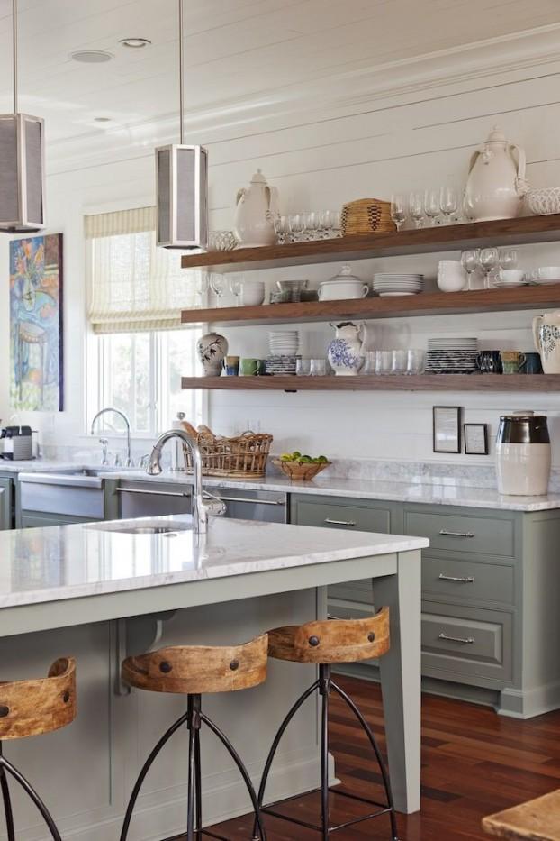 Kuchyne s otvorenými poličkami - Obrázok č. 98