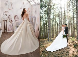 Nevesta @simonkaba a jej svadobné šaty Mori Lee model Marina zo svadobného salónu Zoya Wedding Center Trnava.