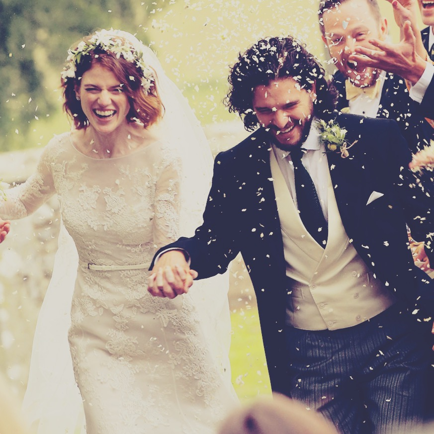 Aha, kto sa nám cez víkend oženil! :) (a len tak mimo témy, na odľahčenie od svadobných príprav, sledujete Game of Thrones? Kto sa už nevie dočkať ďalšej série? :-D ) - Obrázok č. 1
