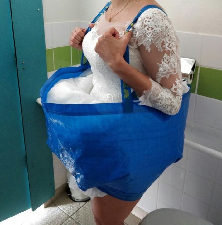 Ikea má riešenie na všetko, dokonca aj pre nevesty :-D - Obrázok č. 1