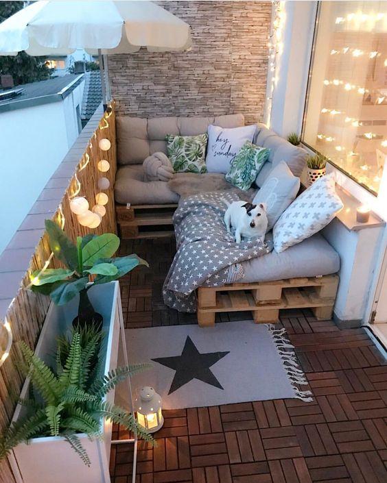 Malý balkón s veľkou atmosférou - inšpirácie - Obrázok č. 170