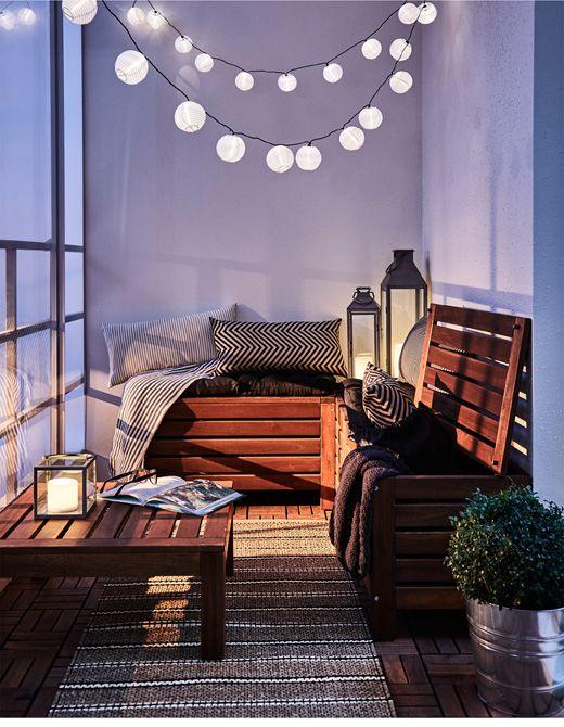 Malý balkón s veľkou atmosférou - inšpirácie - Obrázok č. 177