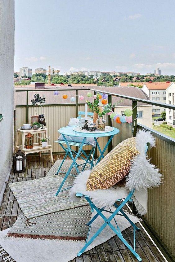 Malý balkón s veľkou atmosférou - inšpirácie - Obrázok č. 190