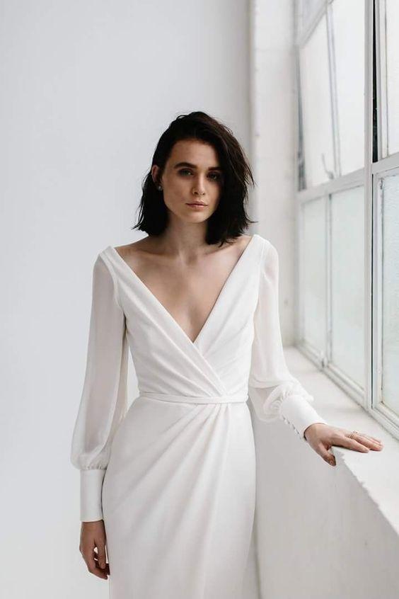 Tak jednoducho, ako sa len dá (minimalizmus v svadobných šatách) - Obrázok č. 65